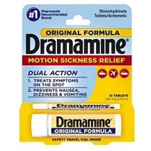 Dramamine Motion Sickness Relief Tablets