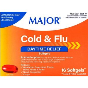 Major Cold & Flu Daytime Relief (Compare to Dayquil)