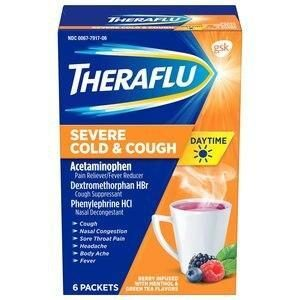 Theraflu Multi-Symptom Severe Cold & Cough Day Packets 6 CT