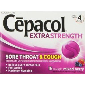 Cepacol Sore Throat & Cough Extra Strength Lozenges