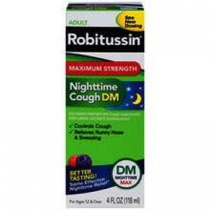 Robitussin Nighttime Cough DM Max Strength Liquid